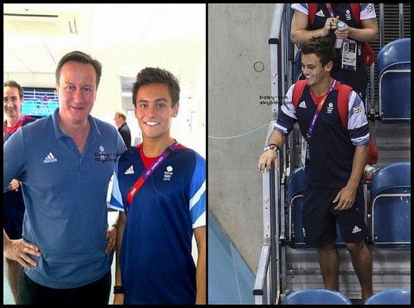 29.01.2013 - Tom rencontrait David Cameron à Londres.