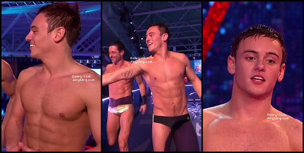 02.02.2013 - Tom présentait la finale de Splash.