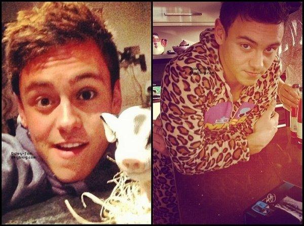 03.04.2013 - Tom à posté quelques photos sur Instagram.
