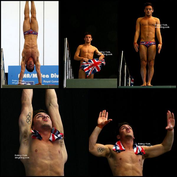 21.04.2013 - Tom lors de la cérémonie d'ouverture de la compétition a Edinburgh en Ecosse.