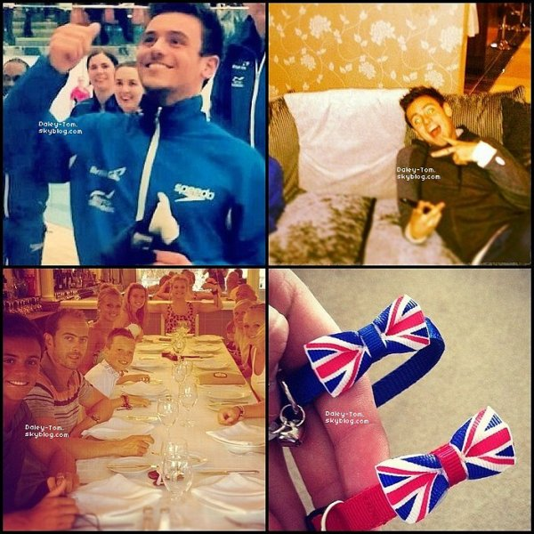 24.04.2013 - Tom a posté des photos Instagram de son entrainement.