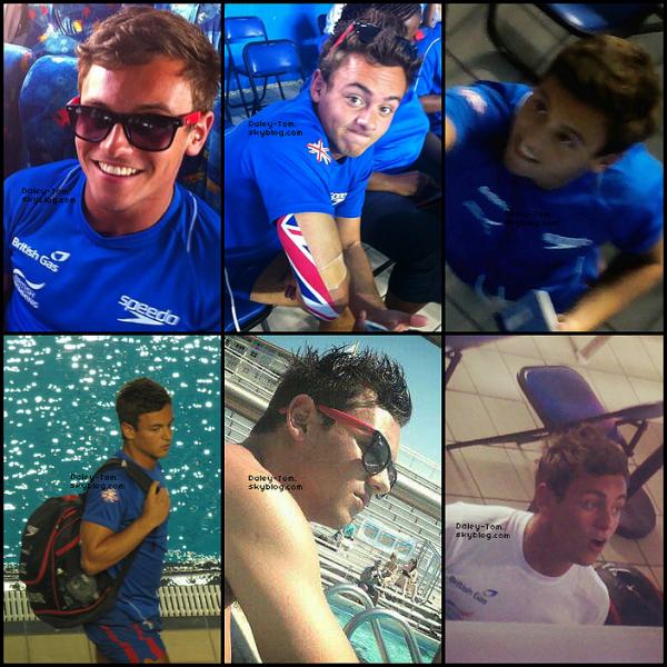 19.05.2013 - Tom se trouvait au Mexique avec la Team GBR pour une compétition. Il a du abandonner a cause de sa blessure au coude.