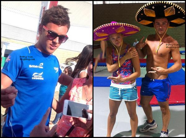 22.05.2013 - Tom s'est entrainé avec la Team GBR puis a posé avec quelques fans.