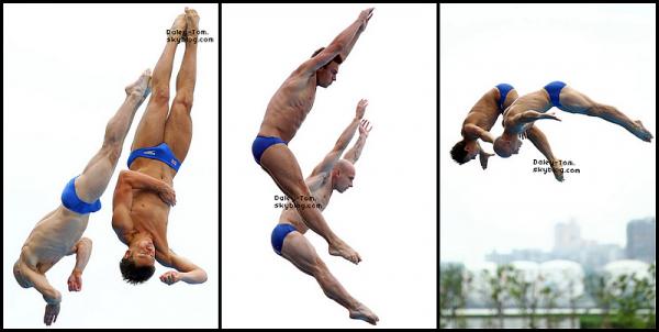 FLASH-BACK - 20.07.2011 - Tom était aux Championnats du Monde a Shanghai.