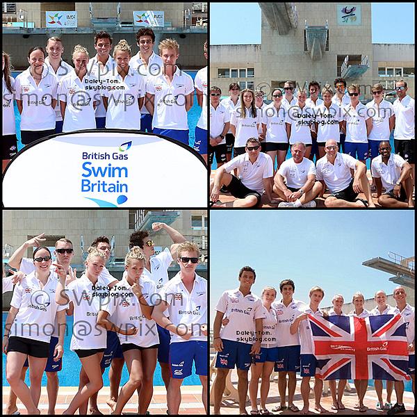 11.07.2013 - Tom se trouve actuellement a Palma De Mallorca (Iles Baléares) avec la Team GBR afin de se préparer pour les Championnats du Monde a Barcelone.