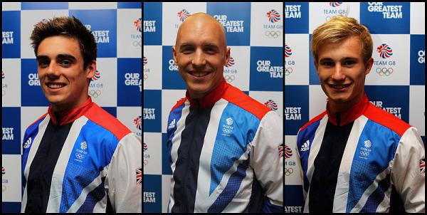Présentation de la Team GBR qui participera aux Championnats du Monde a Barcelone.