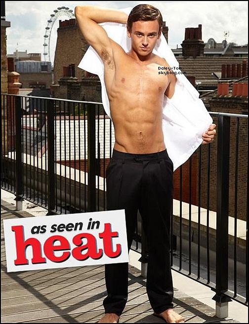 Tom élu l'homme le plus sexy de l'année selon le Magazine Attitude.
