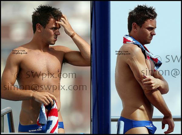 27.07.2013 - Tom participait au tour préliminaire du 10M Individuel a Barcelone pour les Championnats Du Monde.