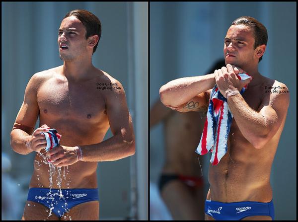 28.07.2013 - Tom a participé a la finale du 10M Individuel. Il a terminé a la sixième place, ce qui est assez respectable au vu de sa blessure au Triceps.