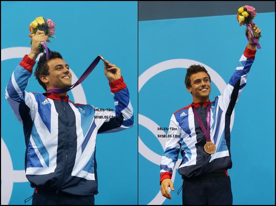 REMEMBER  REMEMBER - 11.08.2012 - Il y a un an de cela, Tom remportait sa première médaille olympique de Bronze derrière le Chinois Qui Bo et David Boudia avec la médaille d'or.