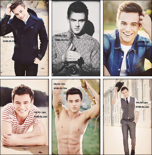Tom Daley's Calendar 2014.