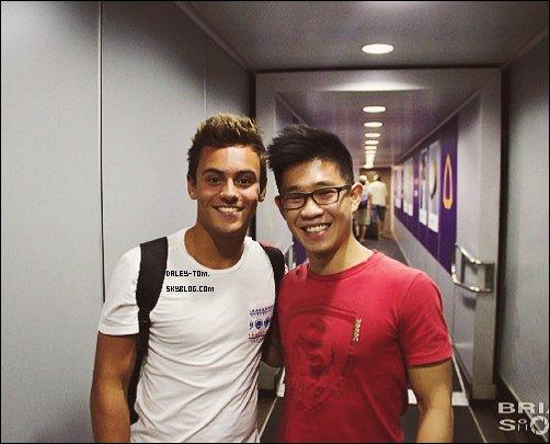 07.08.2013 - Première photo posté par Tom depuis le départ de son World Trip. Il est donc a Bangkok, en Thailande.