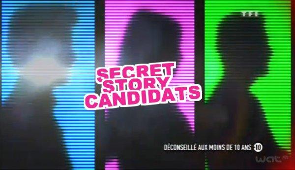 les 3 premiers candidats