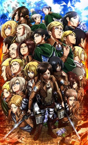 L'attaque des Titans ( shingeki no kyojin )
