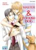 Master and foolish dog