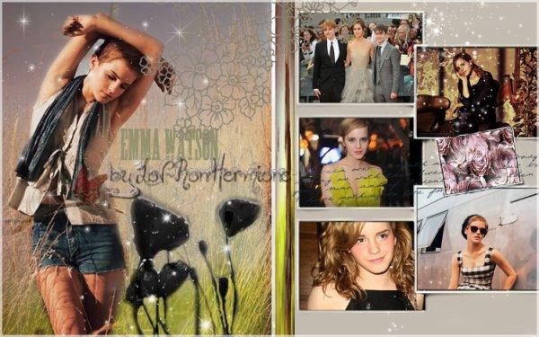 * Emma Watson Vintage * - butterfly & stars -