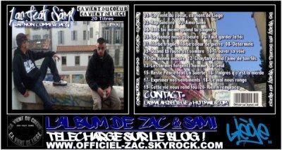 CLIQUEZ ICI POUR TELECHARGER GRATUITEMENT LE NOUVEAU ALBUM DE ZAC & SAMI 2011 - CA VIENT DU COEUR, CA VIENT DE LIEGE .