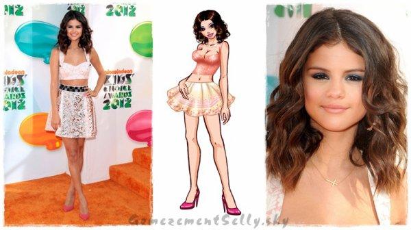 Selena Gomez - KCA's 2012.