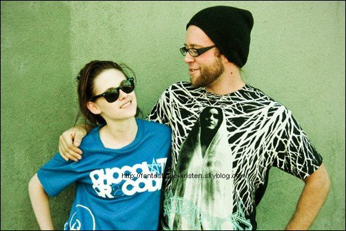 Kristen et son cousin, photos personnelles ♥ (facebook Kristen Stewart)