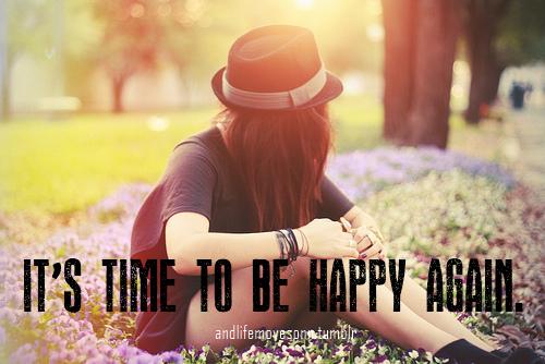 « Oh, et puis sois heureuse ! Il est plus facile d'être heureux que d'être triste. Être triste exige beaucoup d'efforts. C'est épuisant. » Une vie ailleurs - Gabrielle Zevin
