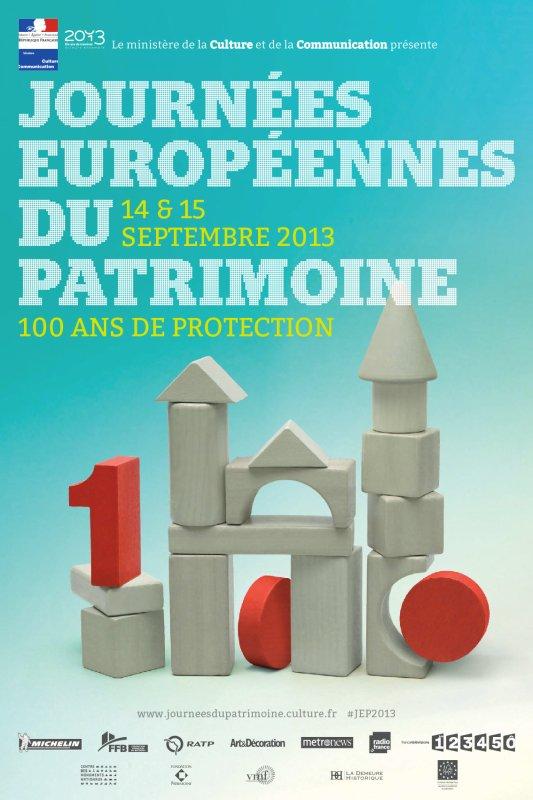 LES JOURNEES EUROPEENNES DU PATRIMOINE 2013