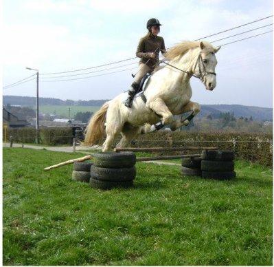 LoOùù & Kenzo (l)Parce que mon cheval c'ritique le 1 fois t'es mort ;)  J'apprend plein de choses grasse a lui .! c'est le seule garçon qui ma jamais fais de mal :) .! moi je l'aime ce petit chou* de 12 ans :) (l) avec lui je saute 80 centimètre :D  Kenzo je t'aime petit c½ur :) (l)