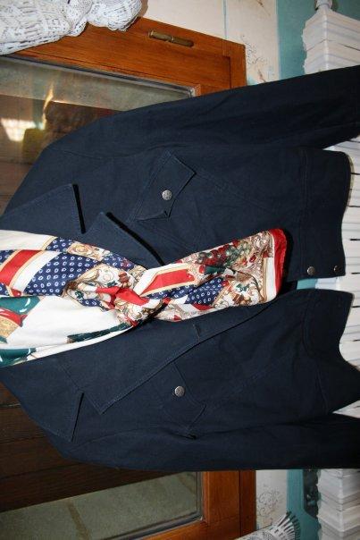 Rubrique: veste bleue marine