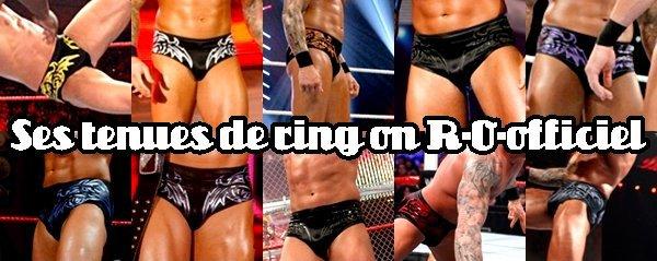 Ses tenues de ring