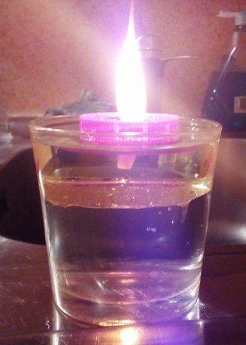 Tutoriel : Bougies à l'eau !