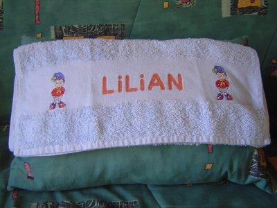 Serviette Lilian (Oui-Oui)