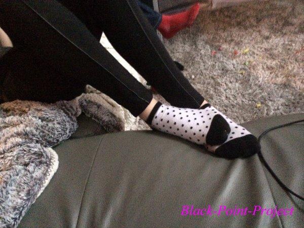 Des petits pieds parfaits pour Noël :)