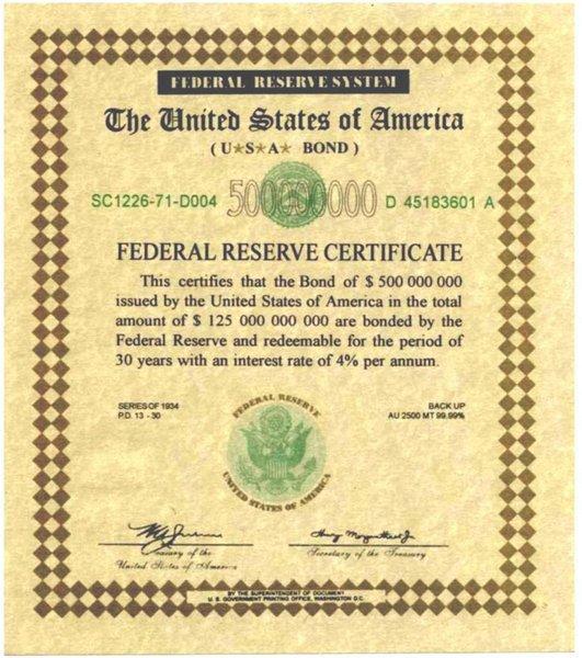 Un T-Bond de 500 millions de dollars US (tkt ça existe !)