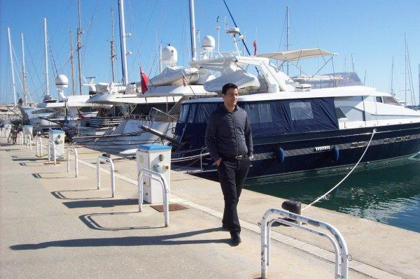 me in Marina Hammamet - Tunisie