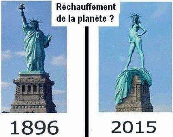 LES MÉFAITS DU RÉCHAUFFEMENT CLIMATIQUE