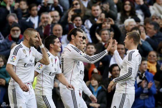 Real Madrid 3-0 win over Atlético Madrid