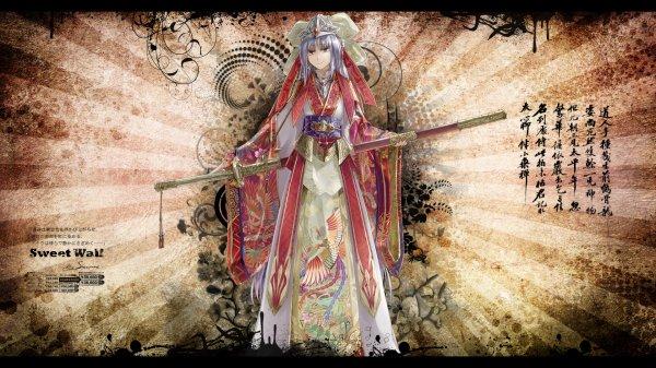 warrior anime girls