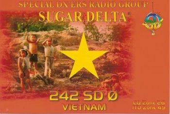 QSL du Vietnam