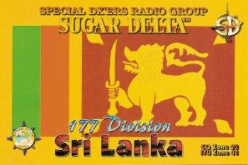 QSL du Sri Lanka