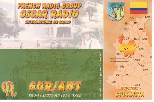 Ma collection de carte QSL