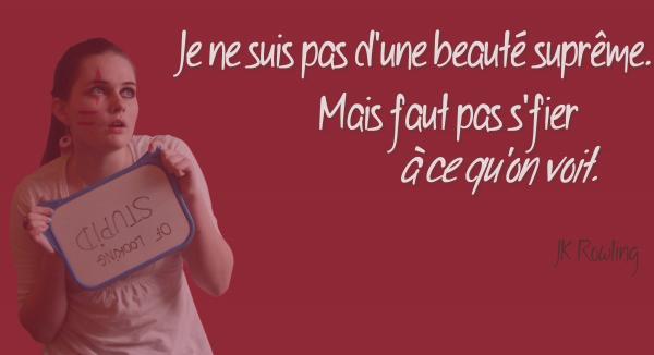 « L'habit ne fait pas le moine »Proverbe français