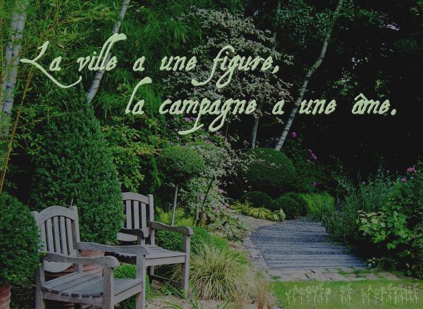 « La campagne n'a de charme que pour ceux qui ne sont pas obligés d'y habiter. »Édouard Manet