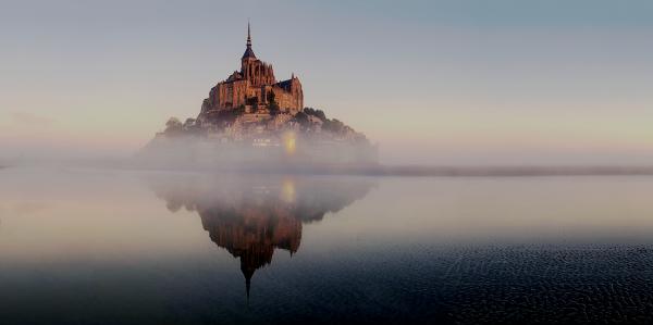« Pluie du matin n'arrête pas le pèlerin. »Proverbe français