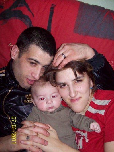 moi mon bebe kylian et mon homme