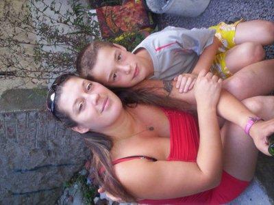 moi et mon fils kéké