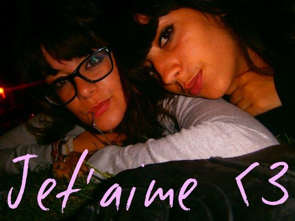 MA MEILLEURE AMIE *-*