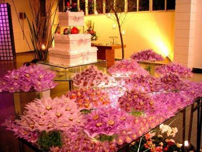 Table de petit four sucre mariage