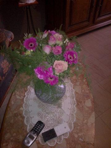 Jolies fleurs un grand merciiii ma Maryse :)
