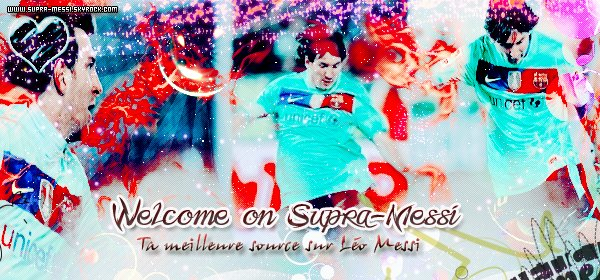 Welcome on Supra-Messi .