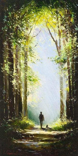 """Pour mon @mie : """" Le sentier du voyageur """""""