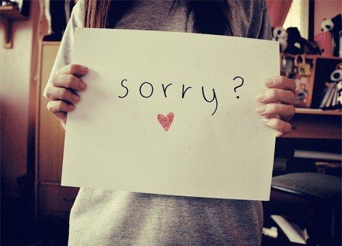 Sorryyyyy